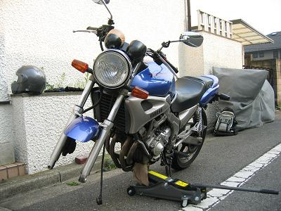 バイク ジャッキ アップ