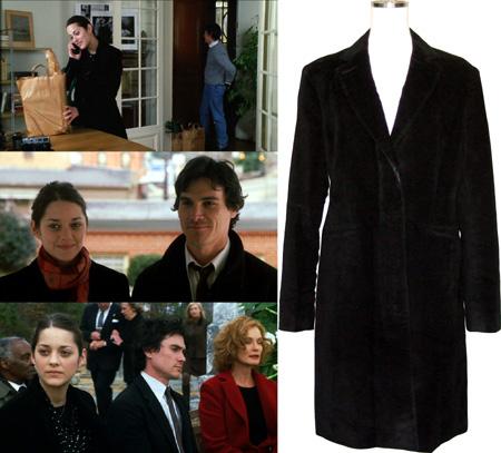 『ビッグ・フィッシュ』のマリオン・コティヤールの衣装は、他にカーディガンやガウンなど持っていたのですが、今はこのコートだけになってしまいました  しょんぼり