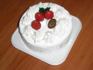 クリスマスケーキ-001
