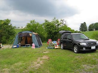 高原 村 三河 キャンプ