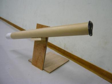 手づくり望遠鏡