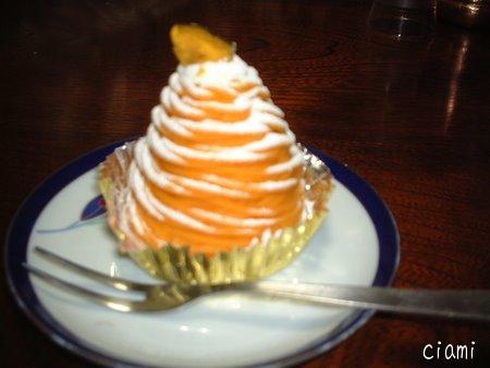 がぼちゃのモンブラン