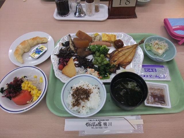 かんぽの宿鴨川朝食.JPG