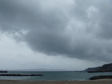 台風が近い.JPG