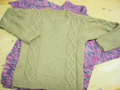 ダイヤ柄のセーター.JPG