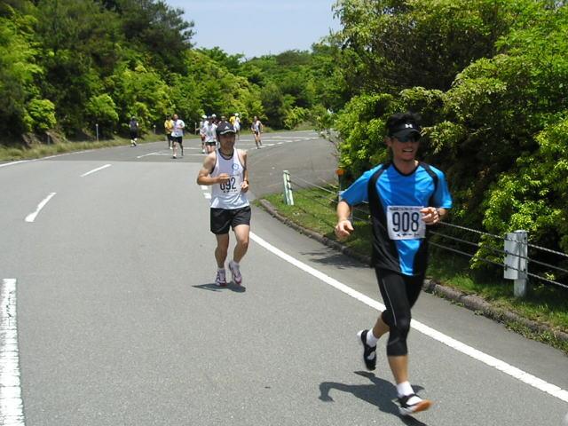 青山高原つつじクォーターマラソン(昨年)
