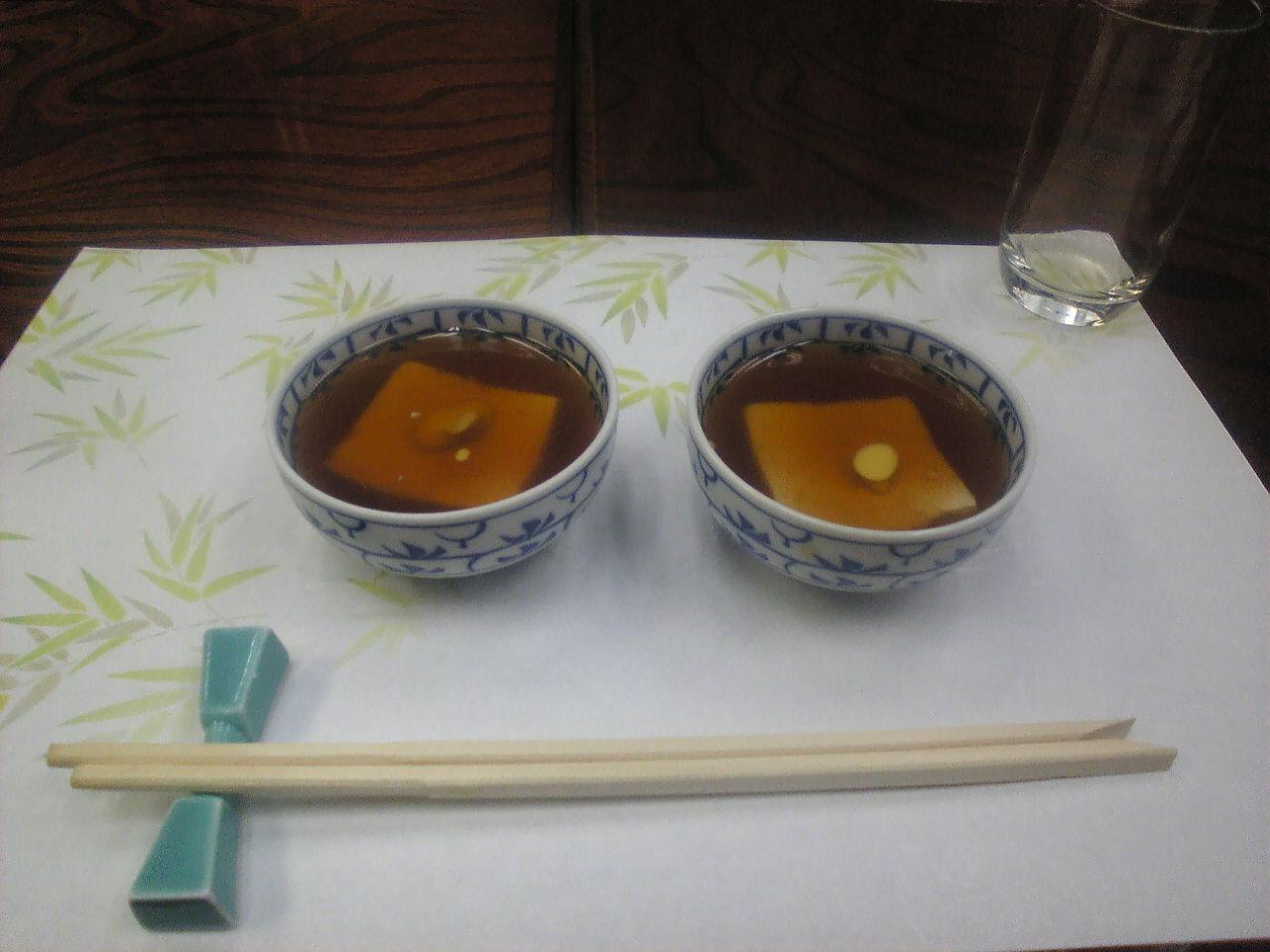 あんかけ豆腐