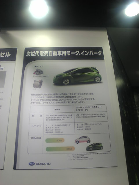 電気自動車用モーター