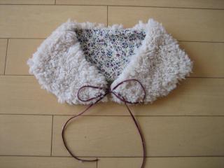 あったか&かわいい♡ティペット(付け衿)の作り方