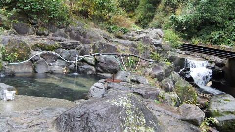 岩間温泉源泉