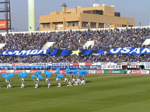 2006Jリーグ開幕戦ガンバ大阪対浦和レッズ