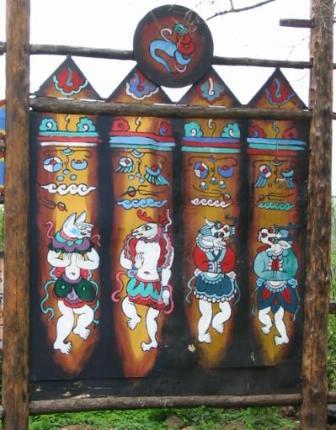 四川チベット族「穀物の起源」二...