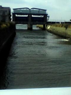 水路の終わり