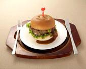 ハンバーグ・レストラン・ボストンのハンバーガー