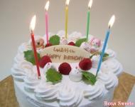 誕生日ケーキデコレーション
