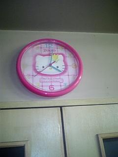 宅配ケーキ屋のケーキ工場の時計