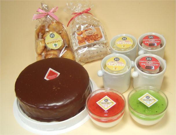 お取り寄せスイーツ・チョコレートケーキ福袋M