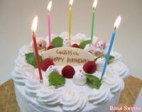 お取り寄せスイーツ、生クリーム誕生日ケーキ宅配できます