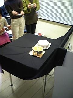 大阪ヨーグルトケーキ、撮影会・試食会