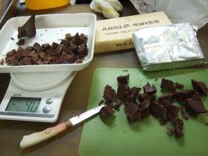 ザッハトルテ風・BCCスイーツ・チョコレートケーキ工程231