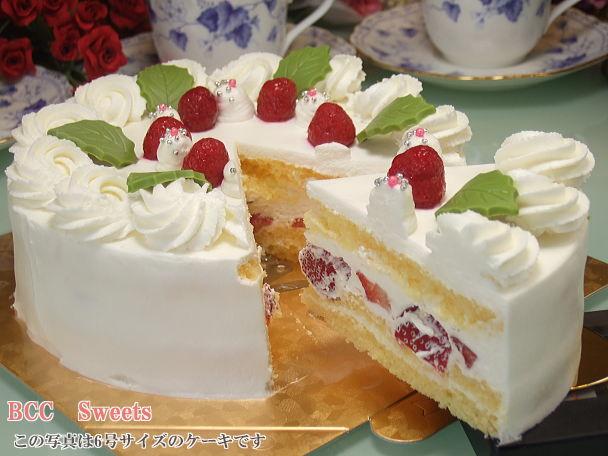 BCCスイーツ・生クリーム・デコレーションケーキ