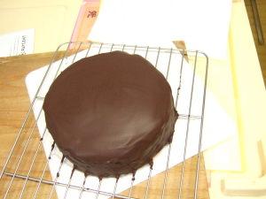 ザッハトルテ風・BCCスイーツ・チョコレートケーキ工程234