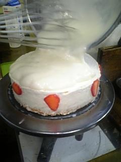 大阪ヨーグルトケーキ。毎日作っています2