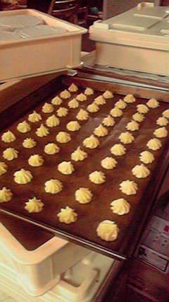 焼く前のクッキー