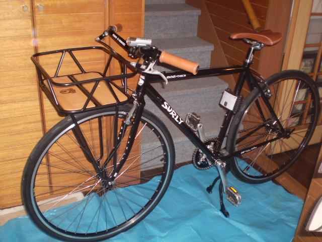 自転車の 自転車のカゴ取り付け : ミノウラのGAMOH キングキャリア ...
