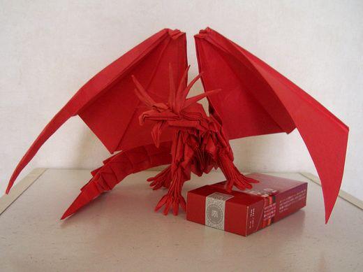 折り 折り紙 折り紙ドラゴンの作り方 : divulgando.net