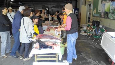 堺旧港観光市場