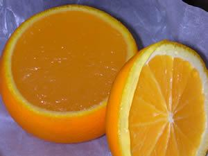 村上開新堂のオレンジゼリー