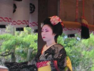 舞妓さん(八坂神社)