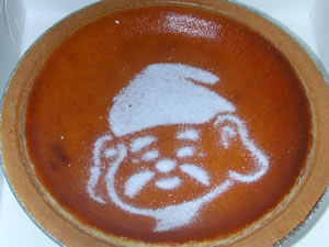 えべっさんのチーズケーキ