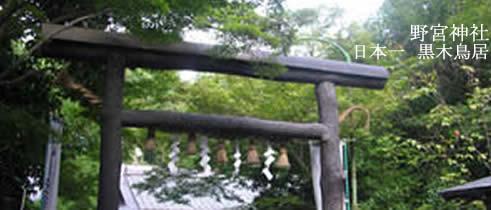 野宮神社黒木の鳥居