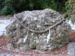 さざれ石(下鴨神社)