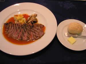 Hafuuのサーロインステーキ