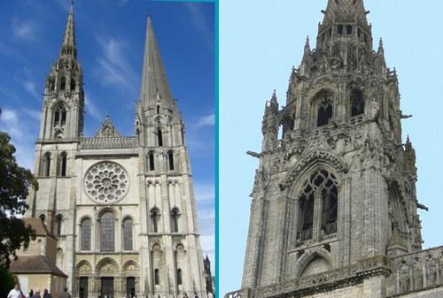 シャルトル大聖堂 このゴシック装飾はただただため息ばかりなり、という感じですかねぇ~。 ...