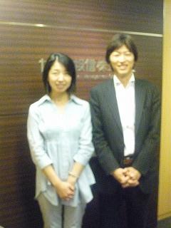 中野社長と私