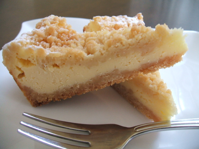 シュトロイゼル チーズケーキ タルト