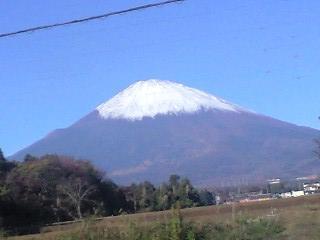 2008-11-20 8:30 富士山