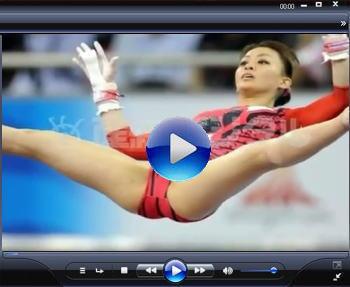 田中理恵 世界体操 女子体操 田中理恵 ハイレグレオタードの大股開きは結構エロい!!