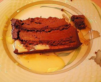 このチョコレートケーキだけ(笑)また食べに来たい!!!