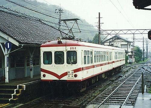 過去ネタ】京福電鉄 東古市駅に...