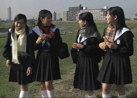 中学生日記クレーマー 名古屋襟セーラー服 女子中学生
