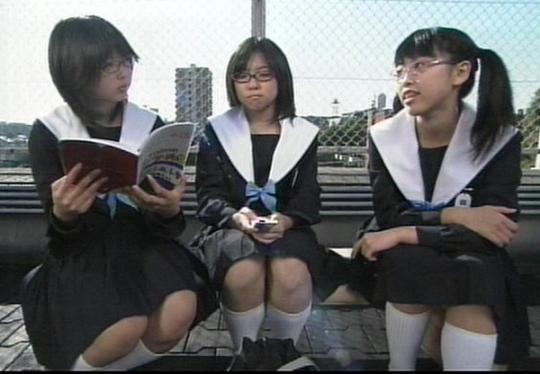 中学生日記 名古屋襟セーラー服 女子中学生