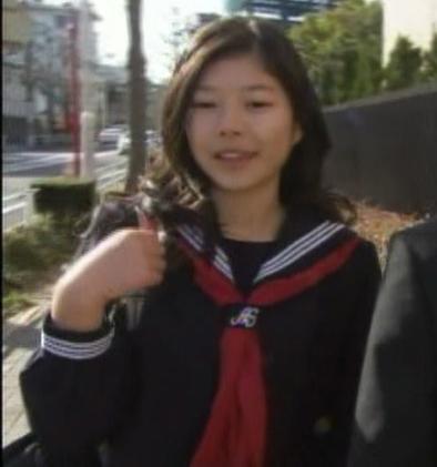 日記生高校入学 中学生日記 名古屋襟セーラー服 女子中学生
