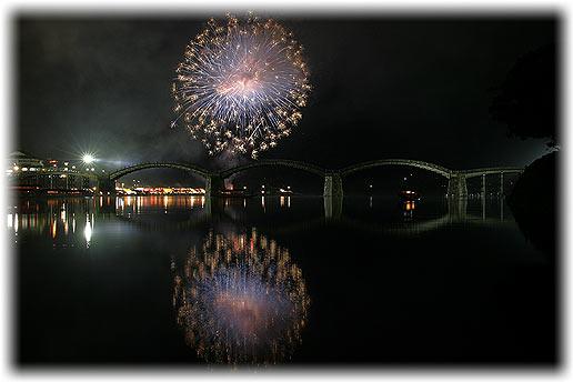 第42回錦川水の祭典花火大会