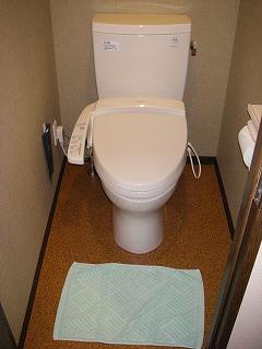 舞浜ユーラシア和室露天風呂付・トイレ