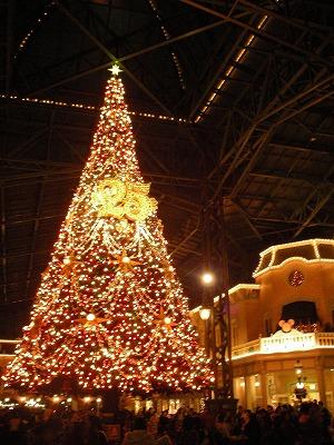 東京ディズニーランド・クリスマスツリー